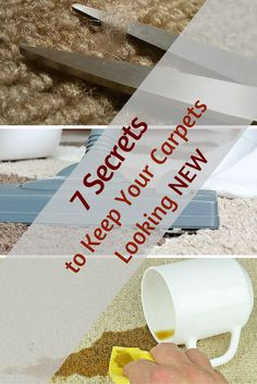 7 Carpet Cleaning Secrets