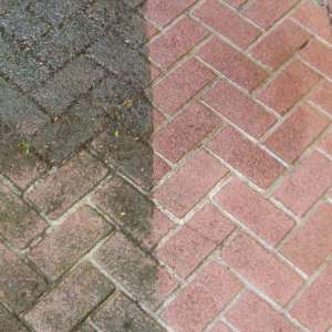 patio pressure washing