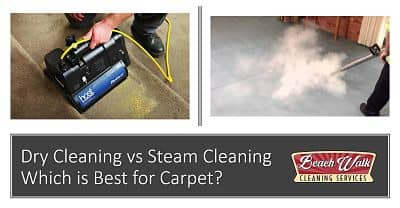 Dry Cleaning vs Steam Cleaning – Which is Best for Carpet?